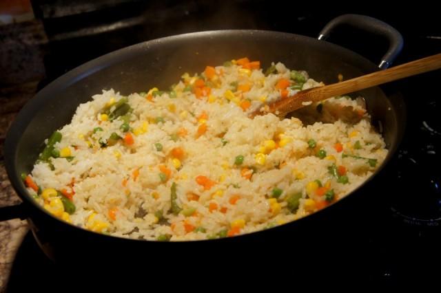 rice pilaf - om nomalicious