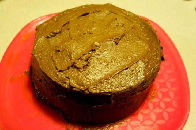 Chocolate^3 Cake - Om Nomalicious